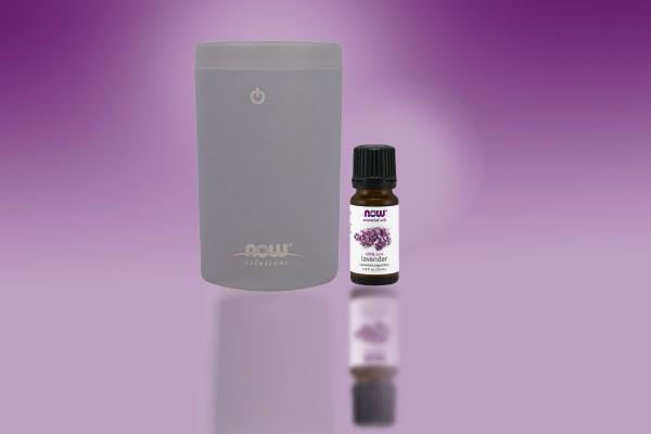 Portable USB Ultrasonic Oil Diffuser & Essential Oils, Lavender