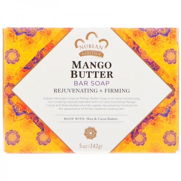 Nubian Heritage, Mango Butter Bar Soap