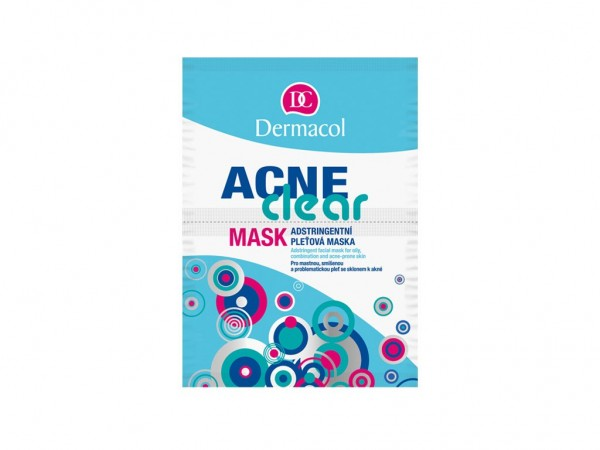 Dermacol - Acne Clear Mask - Mask for oily, combination and acne skin