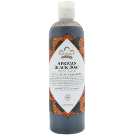 Nubian Heritage, Body Wash, African Black Soap