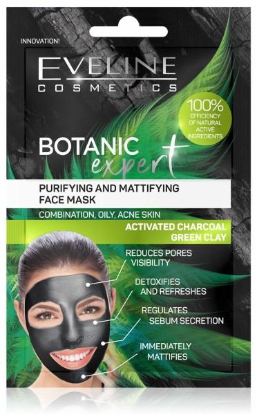 EVELINE - BOTANIC EXPERT - Cleansing and moisturizing face mask