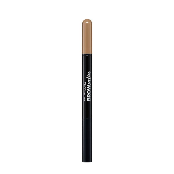 MAYBELLINE - BROW satin - Double-sided eyebrow pencil - DARK BLOND