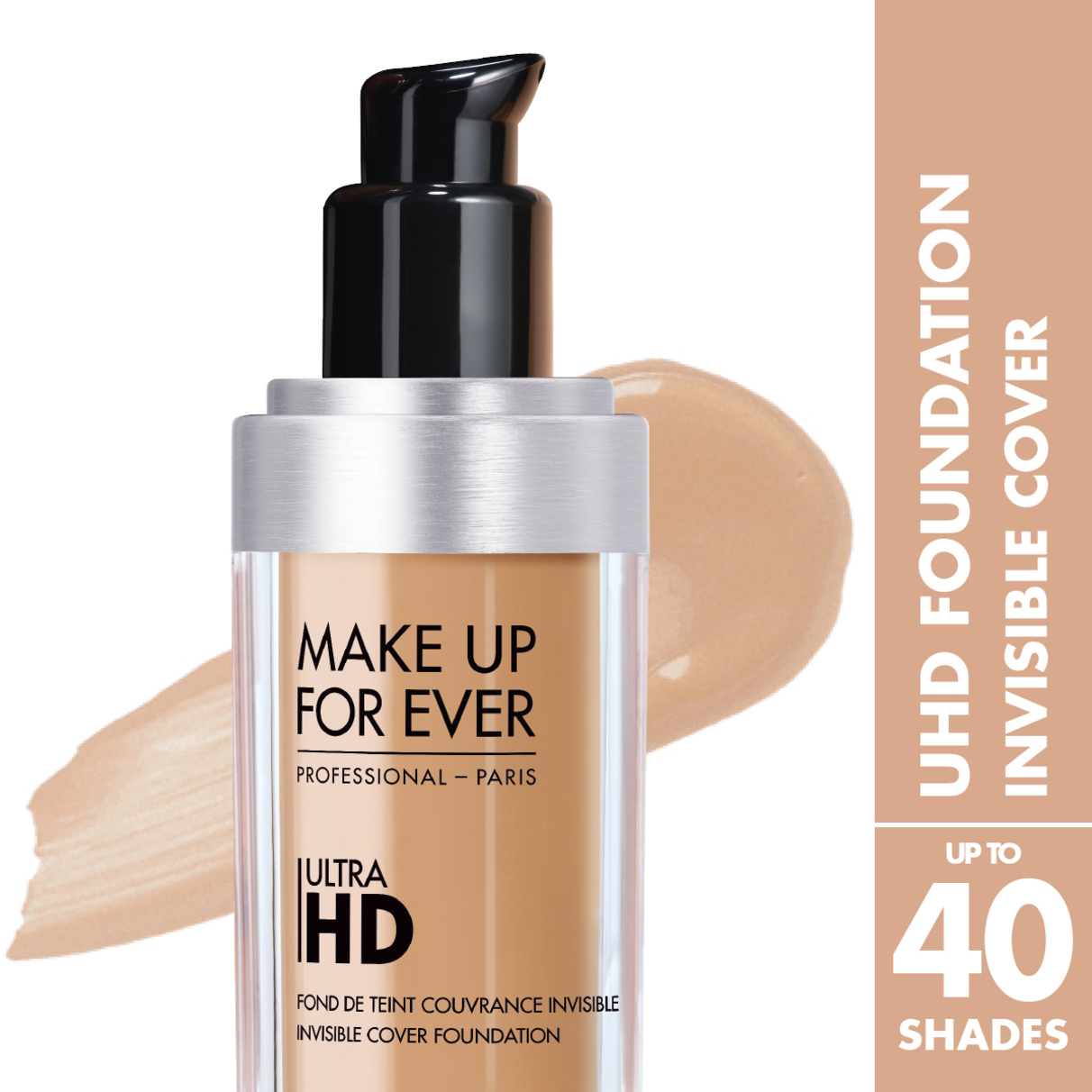 how to apply make up for ever hd foundation