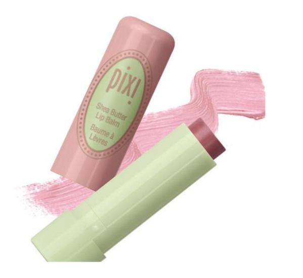 Pixi Shea Butter Lip Balm, Natural Rose