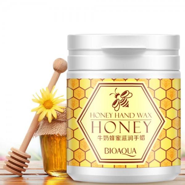 BIOAQUA Natural Honey & Milk Hand Wax